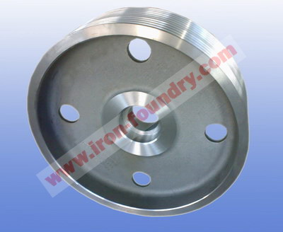 large belt pulley
