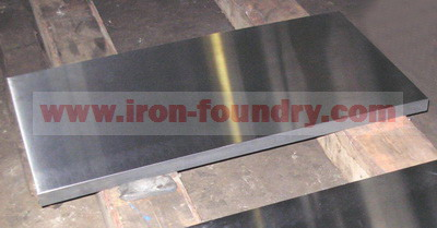 gray iron foundation plate