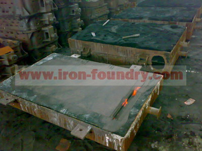 large iron plate