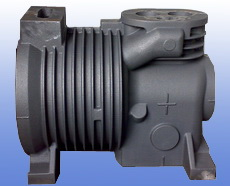 cast iron compressor body