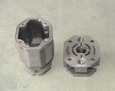 machined pump body