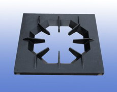cast iron furnace plate