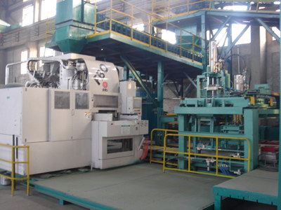 FBO auto molding line in China